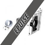 Plaque de montage universelle extra plate Ø 50,8 mm