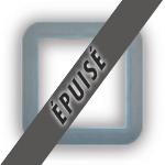 Encadrement pour prise Europe gris clair