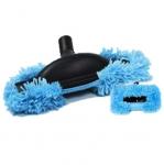 Brosse mop bleue speciale parquet