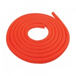 Flexible aspiration centralisée garage orange de 18 m