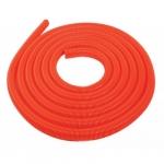 Flexible aspiration centralisée standard nu orange au mètre