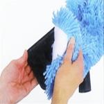 Mop de remplacement bleue