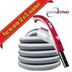 Flexible 12,20m variateur de vitesse DataSync diamètre 35mm, pour les séries GX et DL seulement, Cyclovac TBBO840C