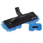 Brosse rasta mop microfibre bleue speciale parquet