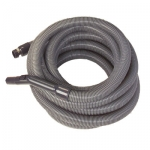 Flexible aspiration centralisee garage gris de 17 metres