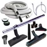 Trousse 8 accessoires + 1 flexible Plastiflex marche/arrêt 9,10 m