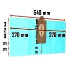 Pochette de 3 Sacs filtre papier ASPIBOX 1400 et 1500 et E04