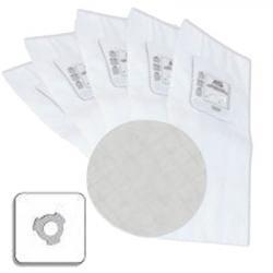 5 sacs type Cyclovac à 3 crans + 1 filtre rond pour modèle GS115