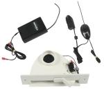 Clapet de cuisine blanc avec émetteur / récepteur